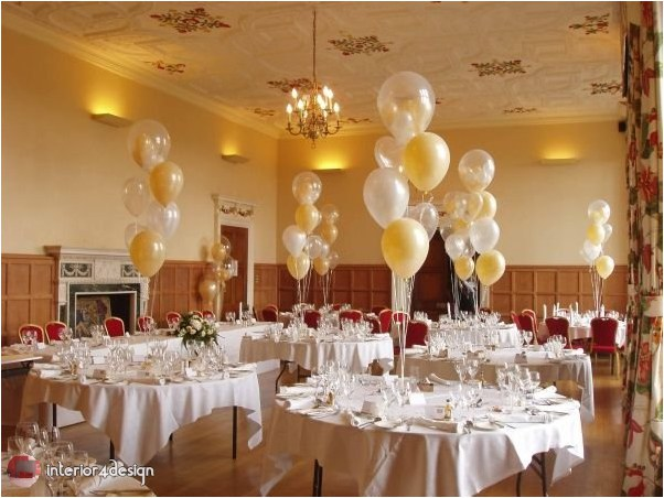 Wedding Decorations With Balloons And Flowers 25