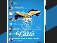 Download Aquila Messenger Tema Klub Sepak Bola Lazio V3.2.5.12 APK