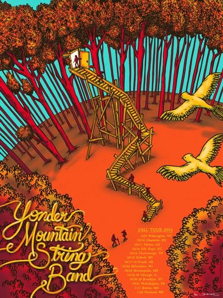 Inside The Rock Poster Frame Blog James Flames Yonder