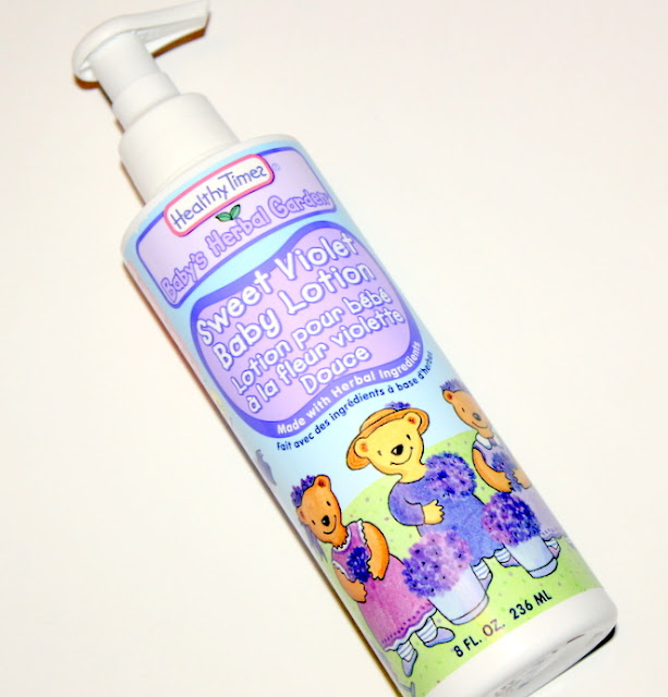 Healthy Times, Baby's Herbal Garden, Baby Lotion, Sweet Violet
