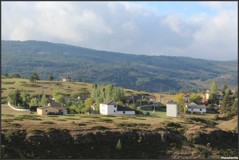 Casas De Búcar. Vista general