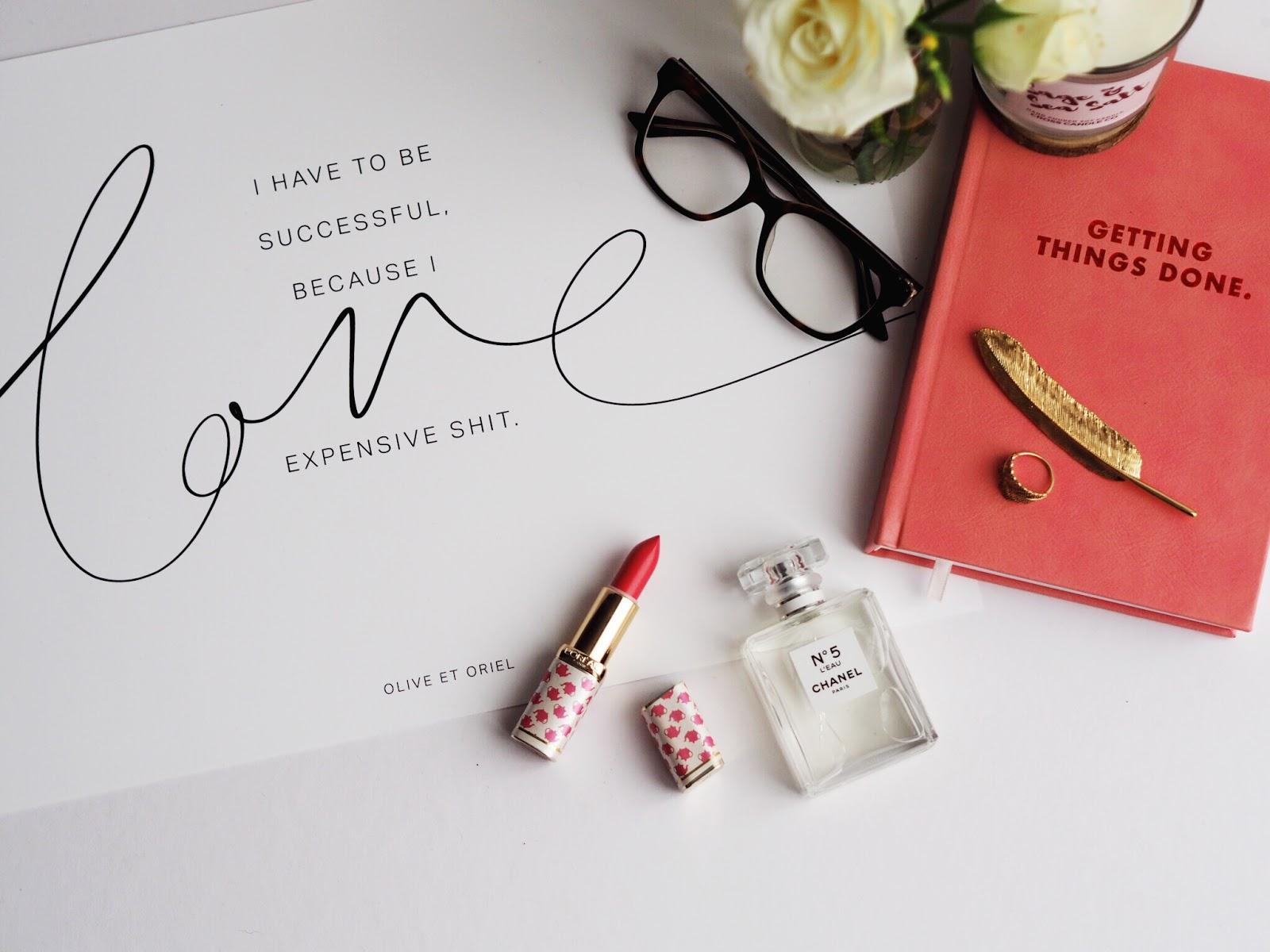 Lifestyle | Defining Success; Olive et Oriel Motivational Poster and CGD Planner