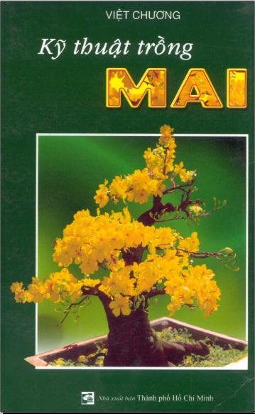 "Bìa tài liệu ""Kỹ thuật trồng mai"""