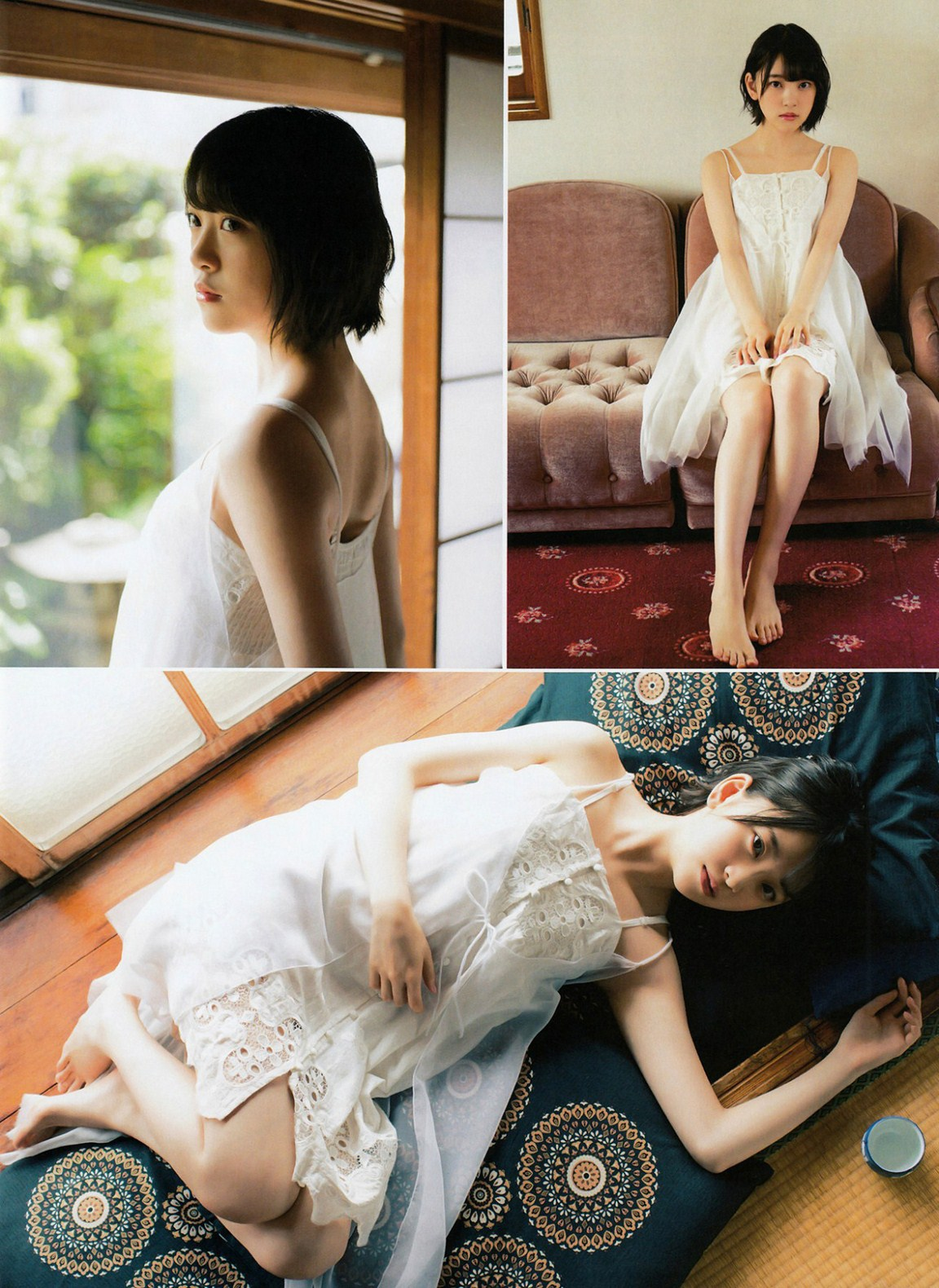 Hori Miona 堀未央奈 Nogizaka46, Gekkan ENTAME 2016.08 Gravure