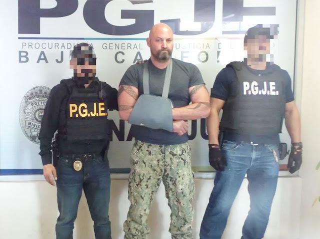 "Cae Iván Riebeling ""El Comandante Cobra"""