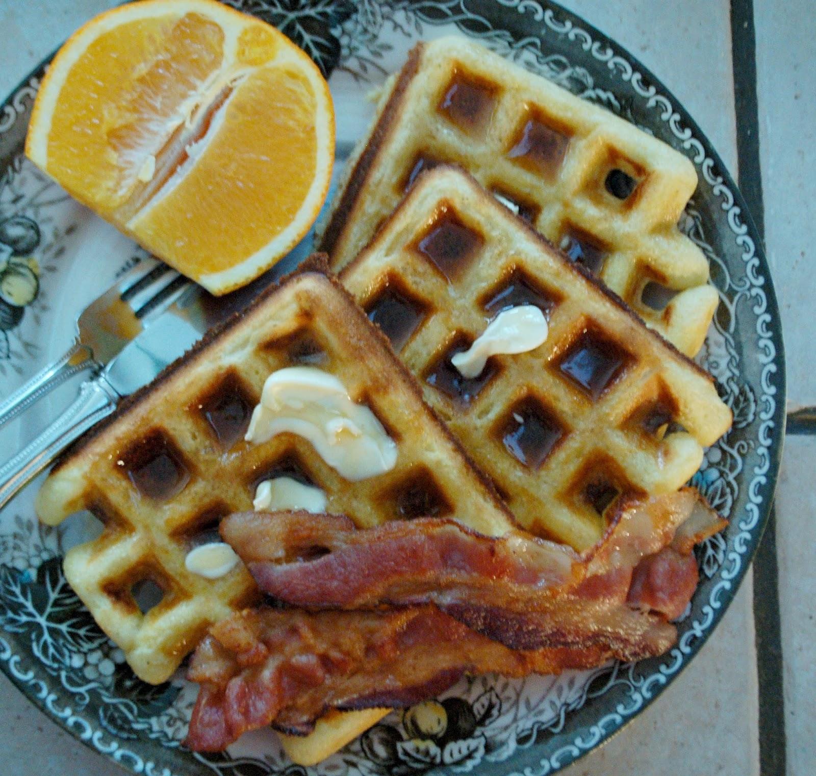 The Spice Garden: Two Words ... Crispy Waffles
