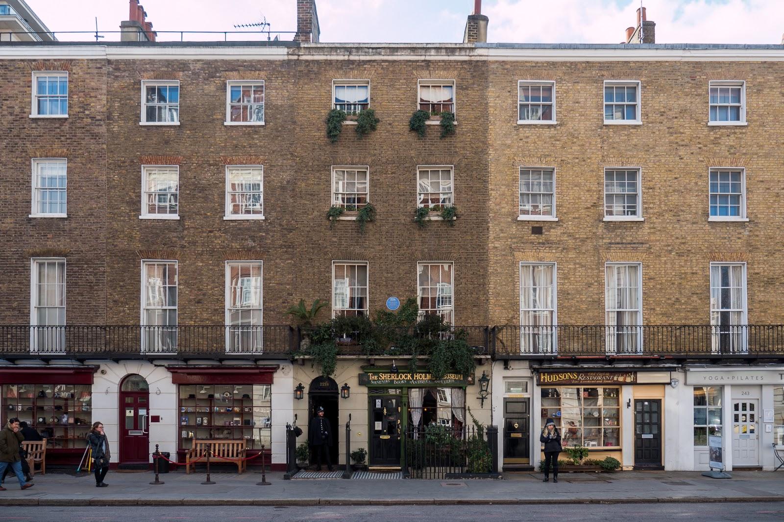 London Baker Street 221b Sherlock Holmes