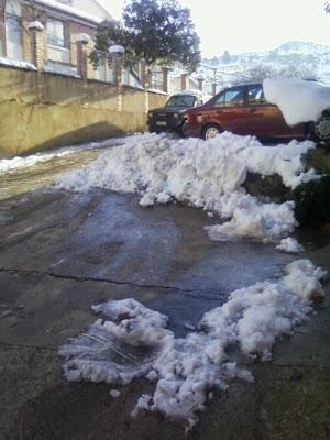 clima, Beceite, nieve, frío, nevada, está nevando, Beseit, neu, eras, eres