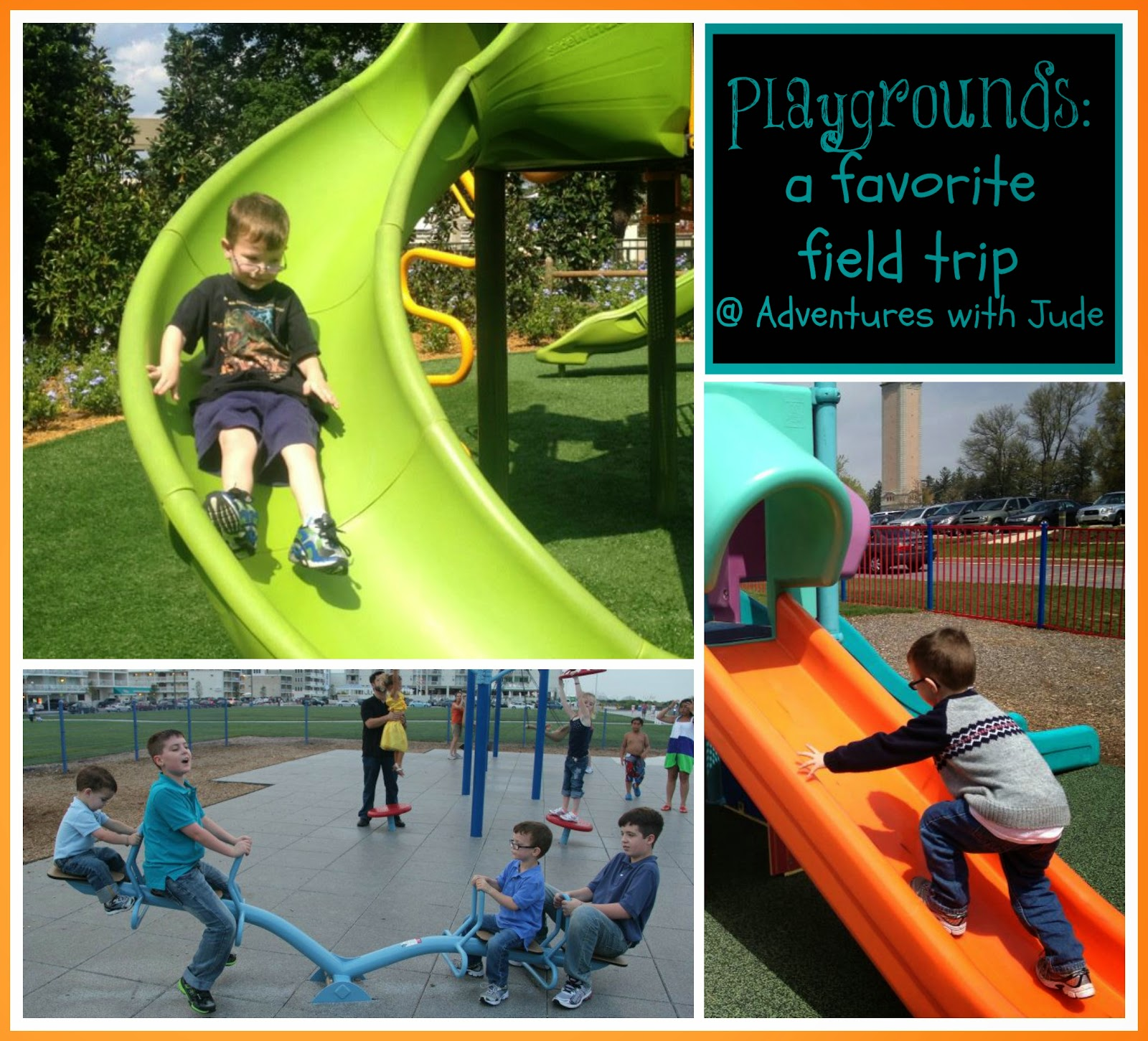 Playgrounds - A Favorite Field Trip #abcblogging