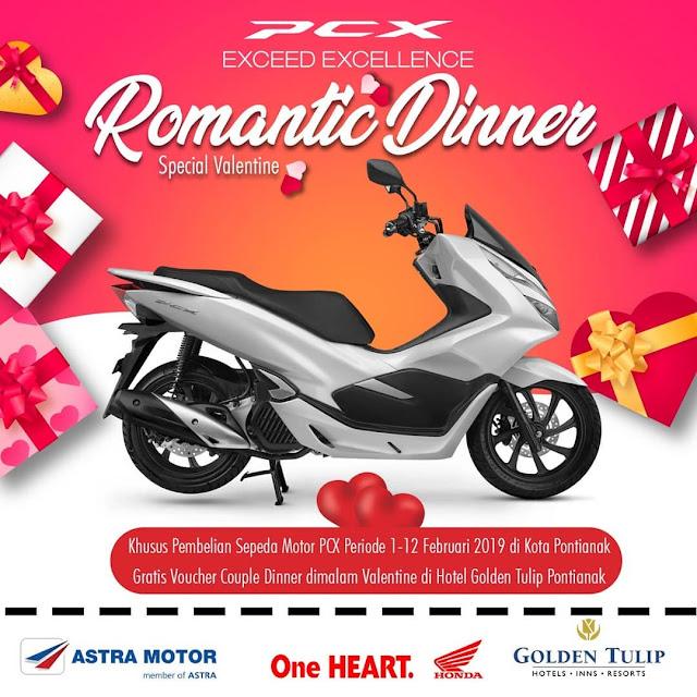 Merayakan Hari Kasih Sayang Bersama Honda Kalbar