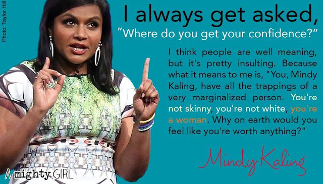 Mindy Kaling on Confidence