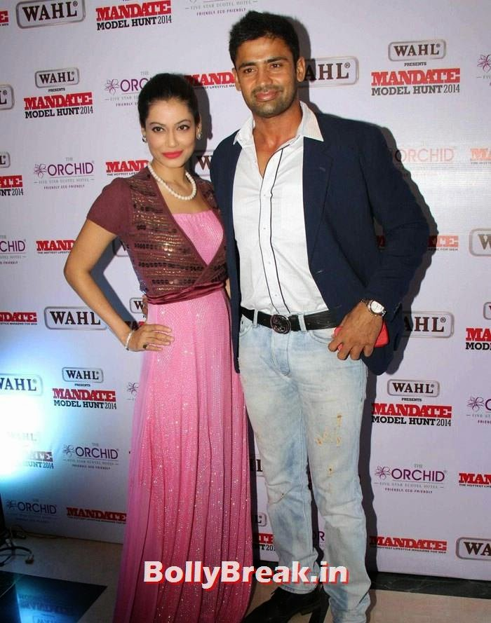 Payal Rohatgi, Sangram Singh, Mandate Model Hunt 2014 Grand Finale Photo Gallery