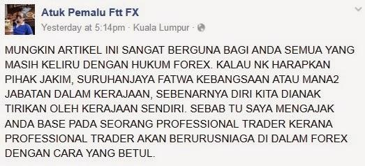 Hukum forex zaharuddin