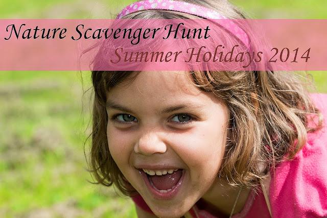 Nature Scavenger hunt Summer Hols 2014