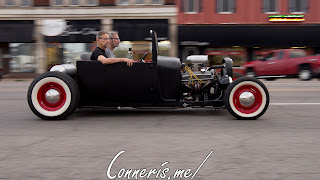 Draggin Douglas Matte Black Rat Rod