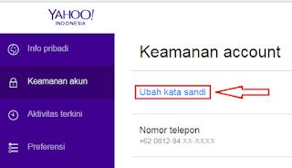 Yahoo mail yaitu layanan email berbasis web yang dikembangkan oleh Yahoo Cara Mengganti Password Email Yahoo