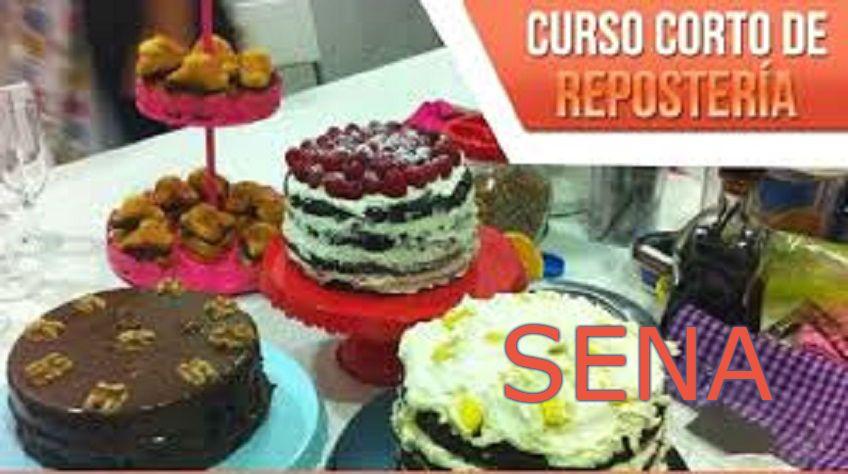 Aprender pastelería - Sena