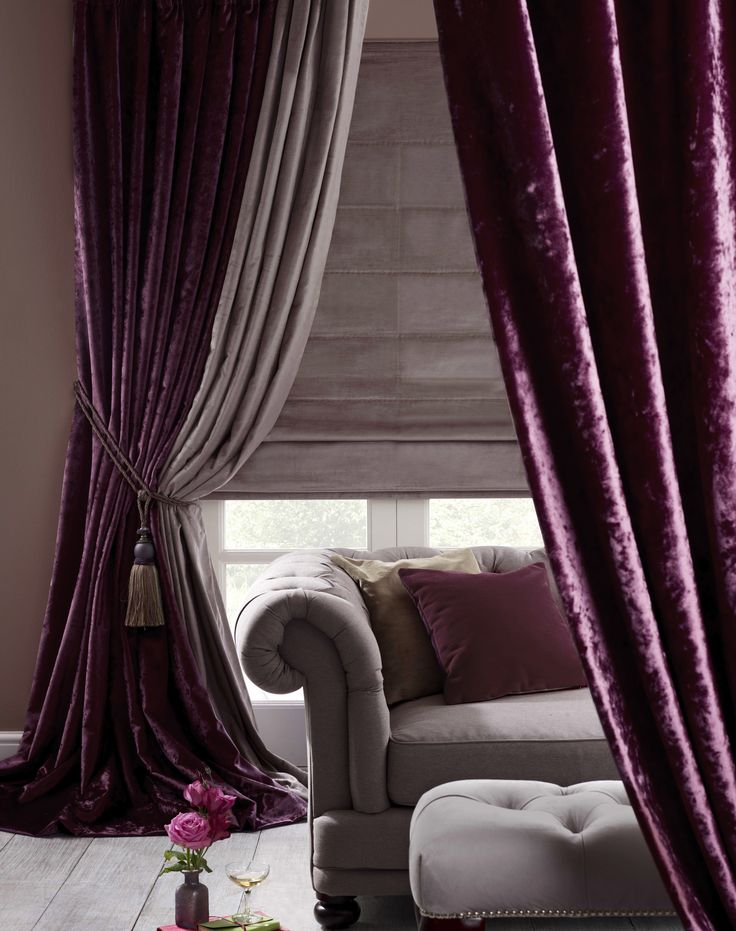 Hang Curtains From The Ceiling High And Wide Over Vertical Blinds Without Drilling