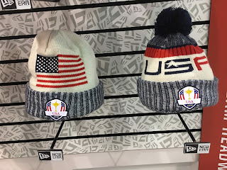 Check out Team USA s uniforms you ll see over in France with new logos and  fabrics. The actual Ryder Cup was also on display. 28761d17836