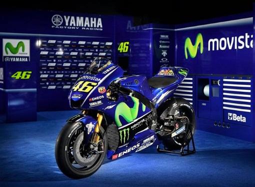 motor baru Yamaha Motogp YZR M1 Valentino Rossi