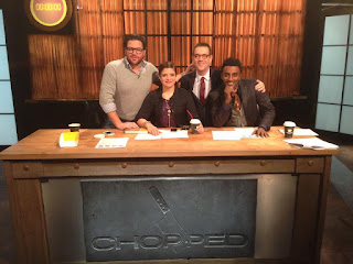 Chopped 200th Episdoe Scott, Alex, Marcus, Ted