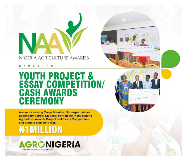 Nigerian Agriculture AwardsYouth Project and Essay Competition 2018