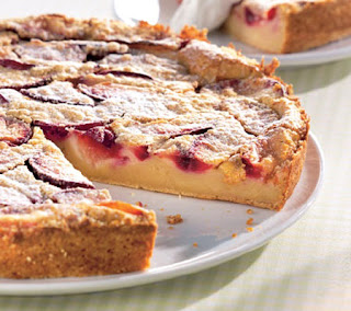 French plum tart recipe