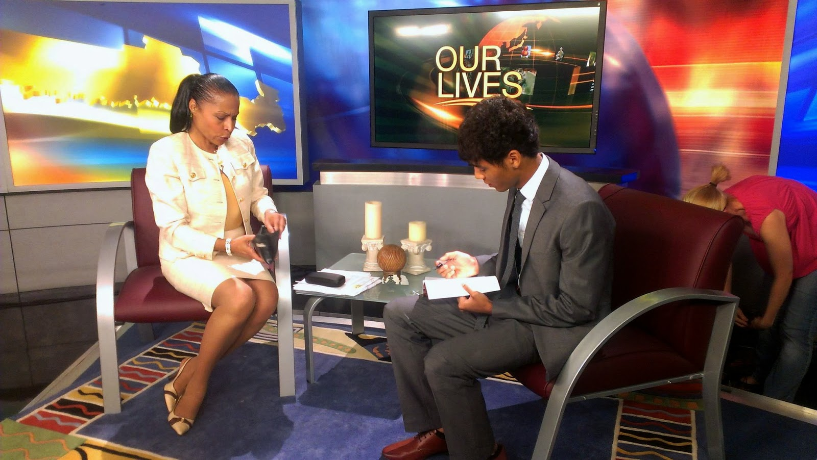 Sages of Essence: Our Lives News 12 Interview 8/31/12