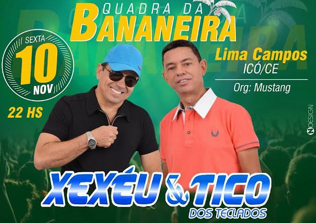 XEXÉU E TICO NO BAR DA BANANEIRA