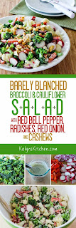 Kalyn's Kitchen®: Barely Blanched Broccoli and Cauliflower Salad with ...