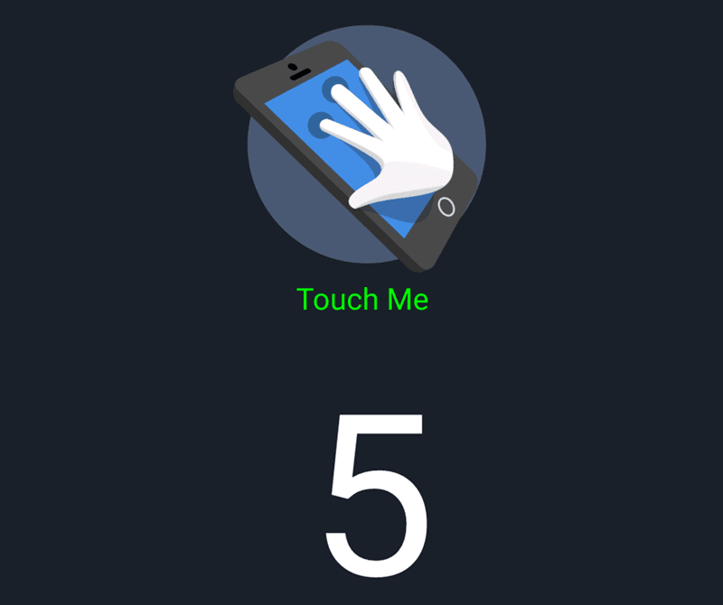 5 points of multi touch is present