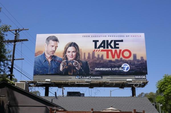 Take Two series launch billboard
