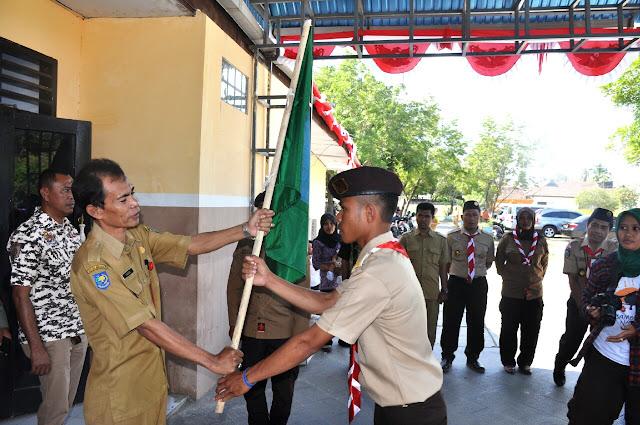 Wakili Bupati Bima, Asisten 2 Lepas Kontingen RAINAS XI