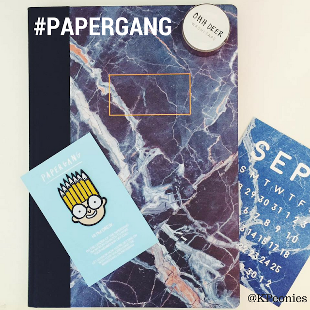 Papergang Stationary Subscription Ohh Deer Kaleidoscope Peonies