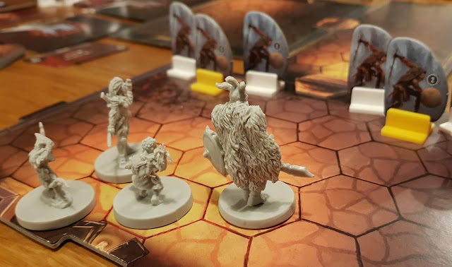 Gloomhaven - the party sets out