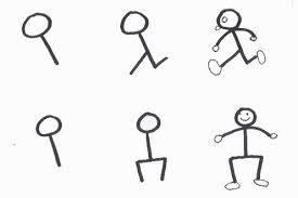 Cara Mudah Menggambar Stickman Untuk Anak-Anak