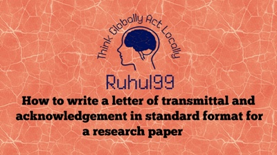 writing acknowledgements for a research paper