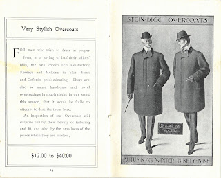 "Description and image of ""Very Stylish Overcoats"""