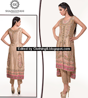 Shazia Kiyani Luxury Pret Designer Collection 2015-2016