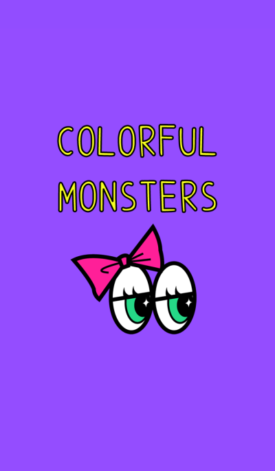 COLORFUL POP MONSTERS