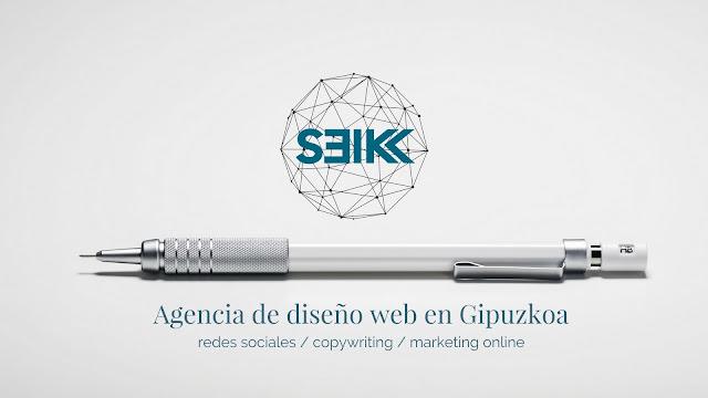portada de Seik agencia de diseño web en gipuzkoa