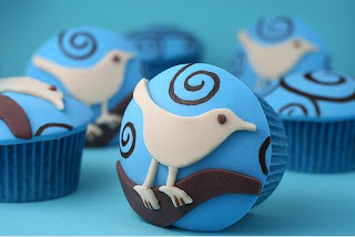 Kue Ulang Tahun Cup Cake Twitter