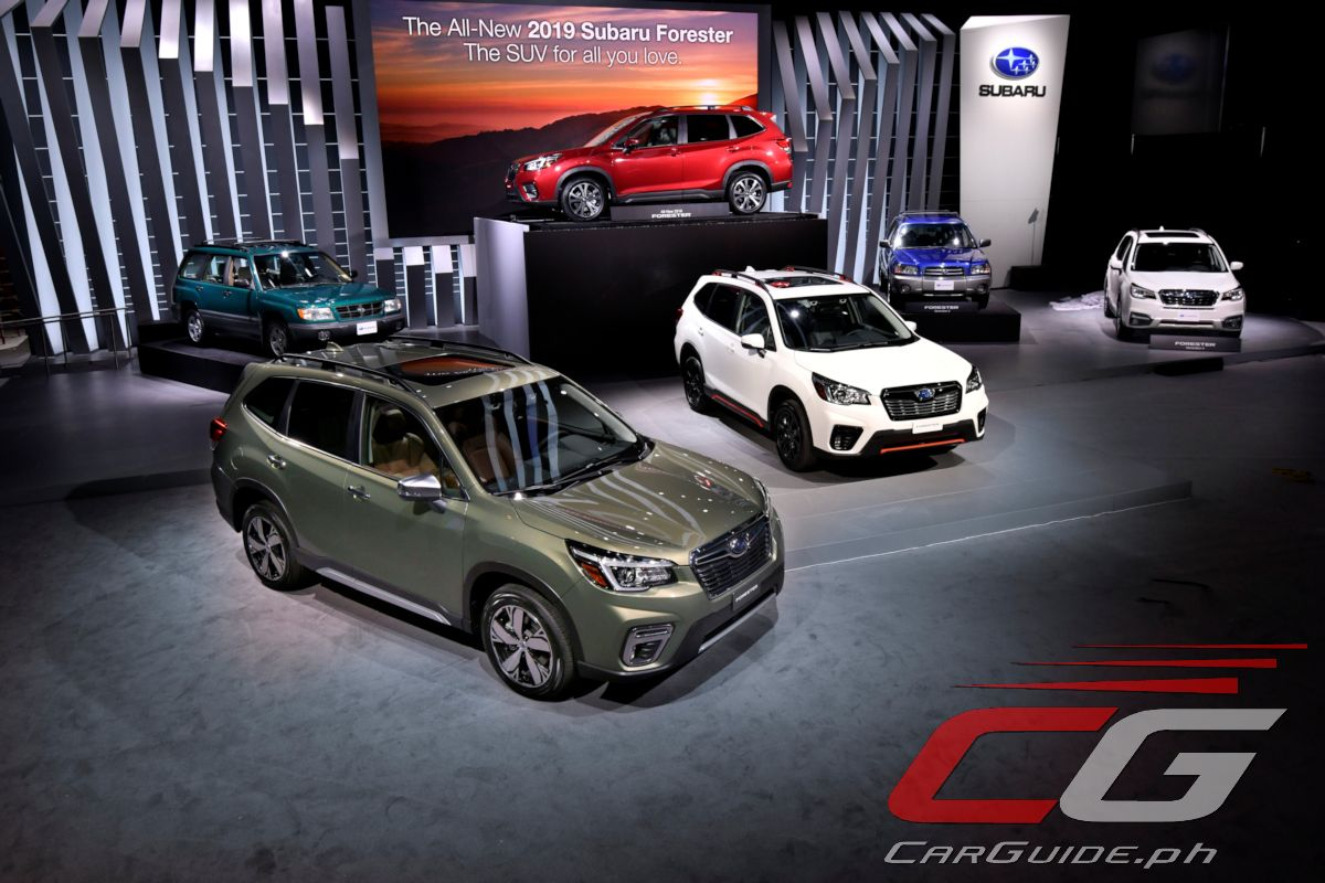 Subaru Presents 2019 Forester: The Most Capable, Roomiest, Safest