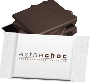 Produk Cokelat Esthechoc Cambridge Beauty Chocolate