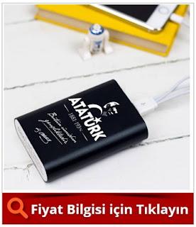 Atatürk Temalı PowerBank