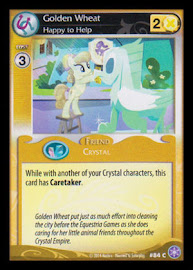 My Little Pony Golden Wheat, Happy to Help The Crystal Games CCG Card