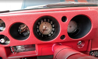 1968 AMC AMX Sports Coupe Speedometer & RPM