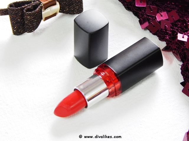 Maybelline Color Show Big Apple Red Creamy Matte Lipstick Big Apple Red Shade