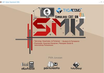 Simulasi UNBK SMK 2019 Exe Semua Jurusan (TKP AKP PSP)