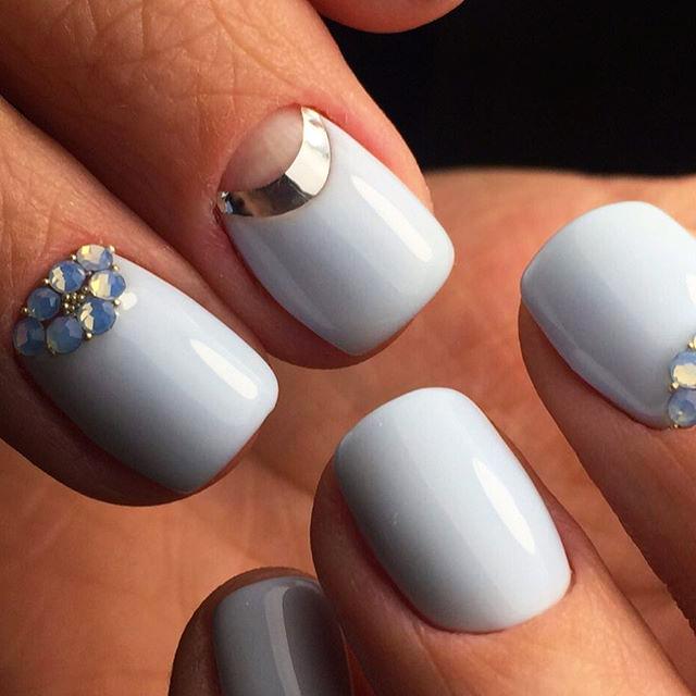 decoracion uñas de novias